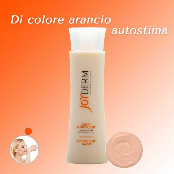 Crema Anticellulite Colore Arancione